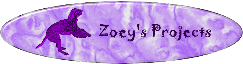 Zoey's Projects Masthead